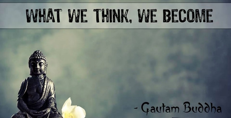 Change: We become what we think